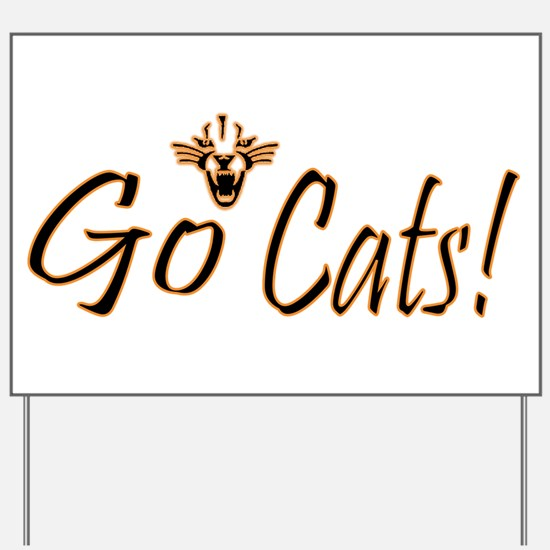 NB Wildcats Yard Sign