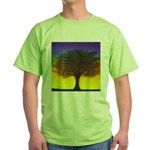 55.wizdomtree..? Green T-Shirt