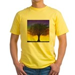 55.wizdomtree..? Yellow T-Shirt