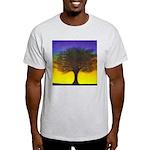 55.wizdomtree..? Ash Grey T-Shirt