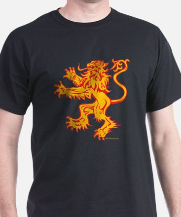 Lion Gold Red T-Shirt