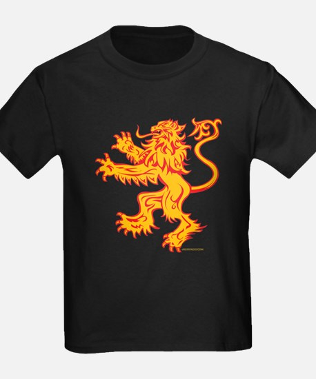 Lion Gold Red T