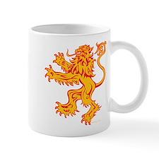 Lion Gold Red Mug