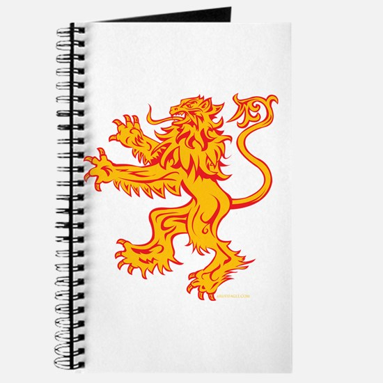 Lion Gold Red Journal