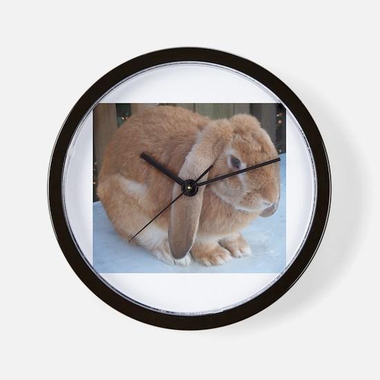 Bunny 002 Wall Clock