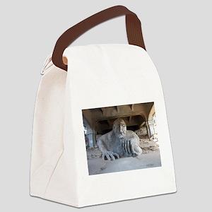 Troll Canvas Lunch Bag
