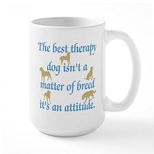 Best Therapy Dog Large Mug