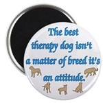 Best Therapy Dog Magnet