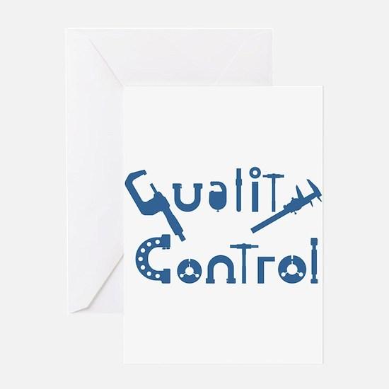 Quality Control Greeting Card