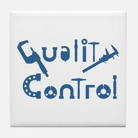 Quality Control Tile Coaster
