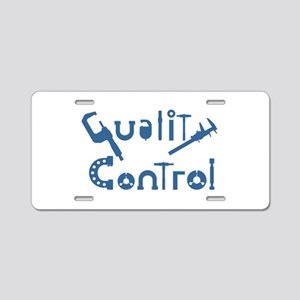 Quality Control Aluminum License Plate