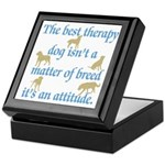 Best Therapy Dog Keepsake Box