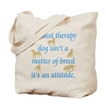 Best Therapy Dog Tote Bag