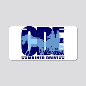 Combined Driving - Horse 2 Aluminum License Plate