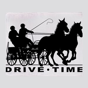 Drive Time 3 Throw Blanket