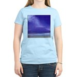 30.view from little beach, maui.. Women's Pink T-S