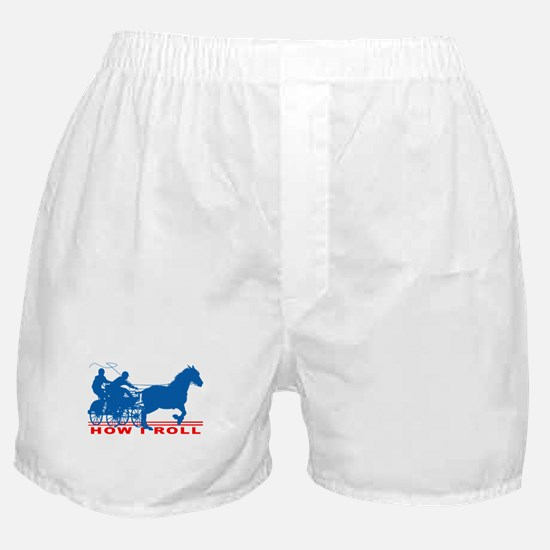 How I Roll - Carriage Driving Boxer Shorts