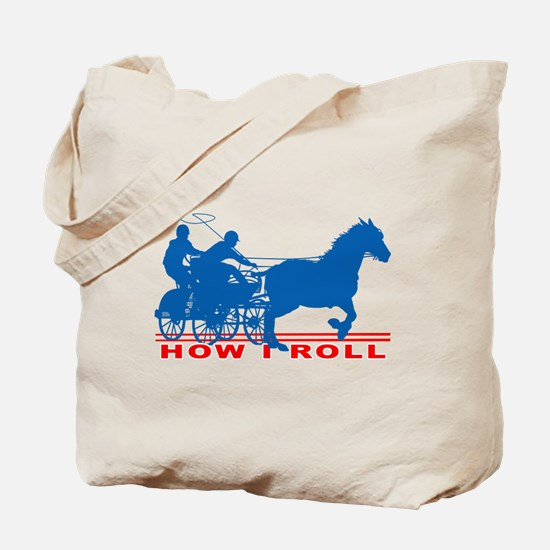 How I Roll - Carriage Driving Tote Bag