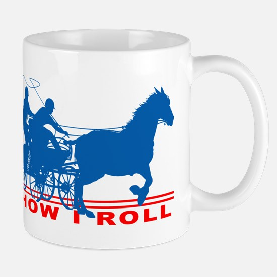 How I Roll - Carriage Driving Mugs