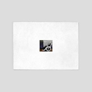 Whistler'sWheelchair 5'x7'Area Rug