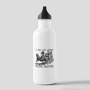 Stunt Driving - Horses Stainless Water Bottle 1.0L