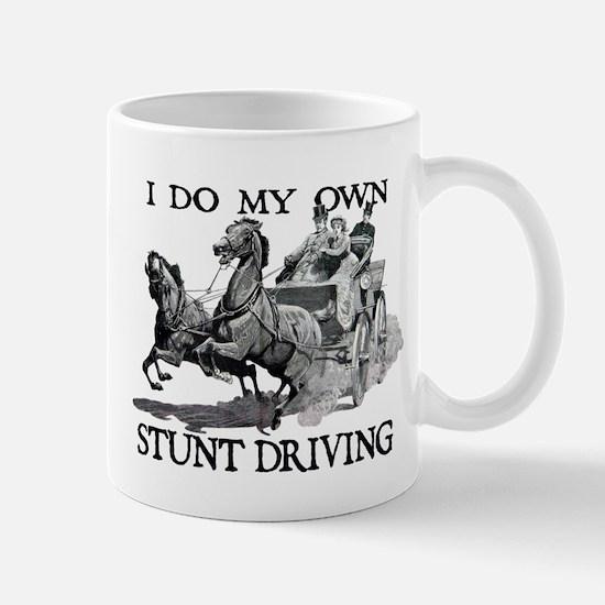 Stunt Driving - Horses Mugs