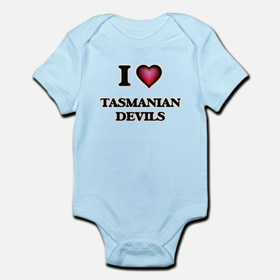 I Love Tasmanian Devils Body Suit