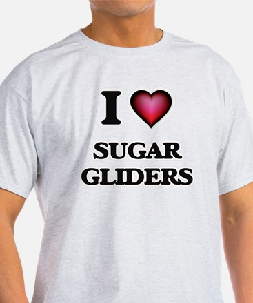 I Love Sugar Gliders T-Shirt