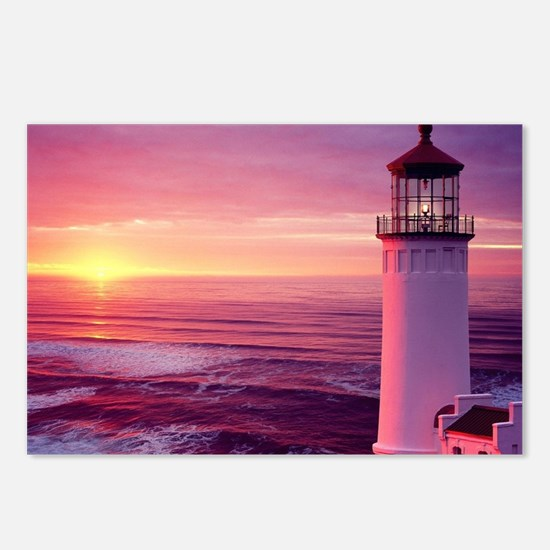 Cool Lighthouse Postcards (Package of 8)