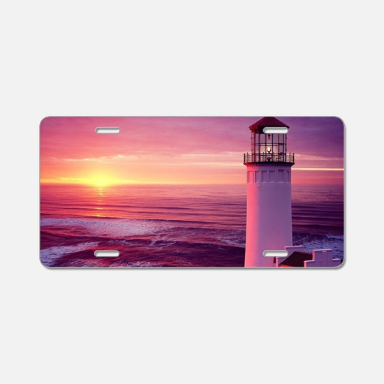 Cool Lighthouse Aluminum License Plate