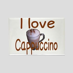 I love Cappuccino Magnets