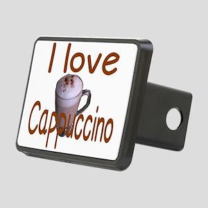 I love Cappuccino Rectangular Hitch Cover