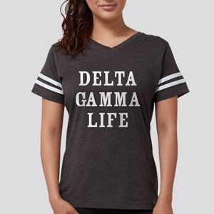 Delta Gamma Life Womens Football Shirt