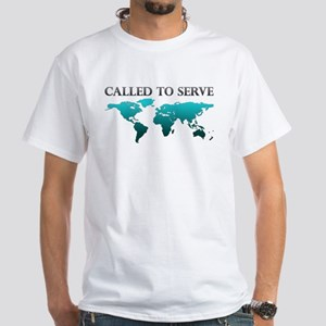 Called To Serve Teal T-Shirt