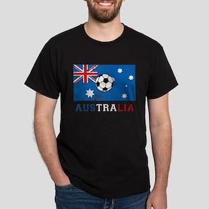 Australian Soccer Dark T-Shirt