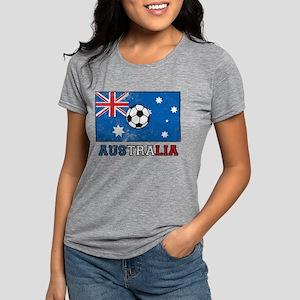 Australian Soccer Womens Tri-blend T-Shirt
