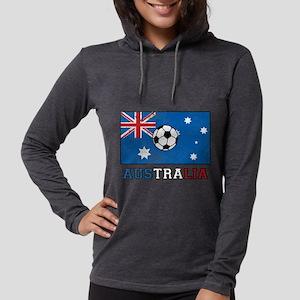 Australian Soccer Womens Hooded Shirt