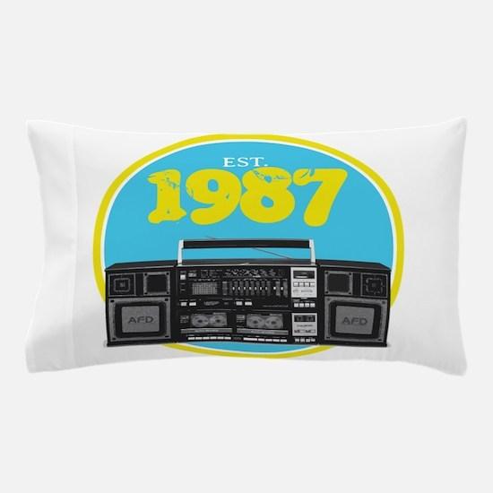 Retro Boombox - 1987 Pillow Case