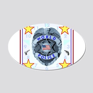 World Police Wall Decal