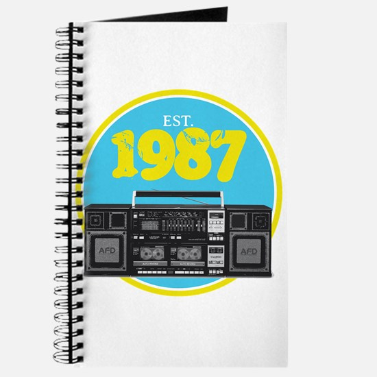 Retro Boombox - 1987 Journal