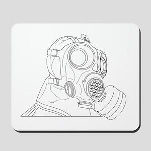 protective suit 678 Mousepad