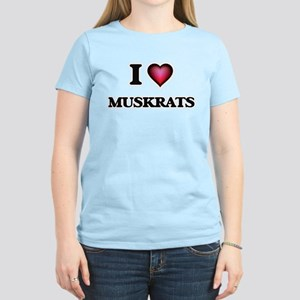 I Love Muskrats T-Shirt