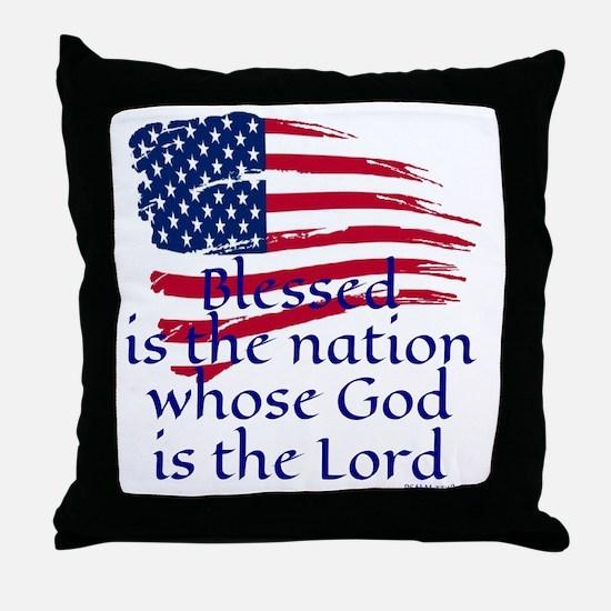 Unique Psalm Throw Pillow