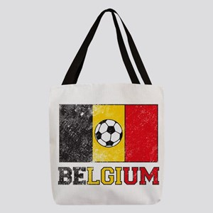 Belgian Soccer Polyester Tote Bag