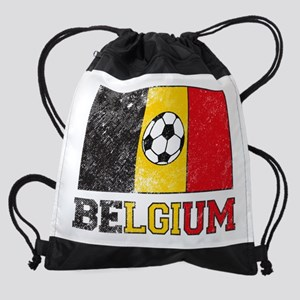 Belgian Soccer Drawstring Bag