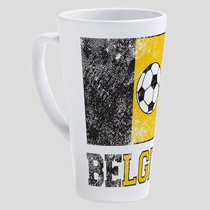 Belgian Soccer 17 oz Latte Mug