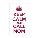 Keep Calm and Call Mom Wall Sticker