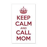 Keep Calm and Call Mom Wall Sticker