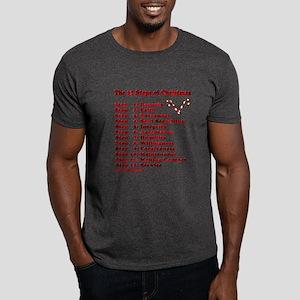 12 Steps Of Christmas Dark T-Shirt