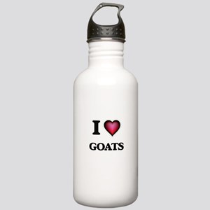 I Love Goats Stainless Water Bottle 1.0L